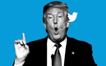 Αντισυνταγματικό για τον Τραμπ να… μπλοκάρει επικριτές του στο twitter
