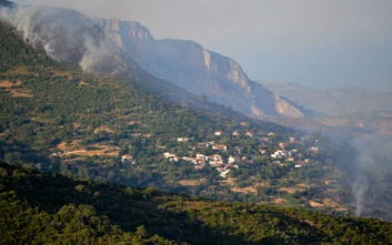 Φωτιά στην Εύβοια: Μακριά νύχτα για τα χωριά της Κύμης