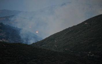Φωτιά στην Εύβοια: «Περάσαμε μια δύσκολη νύχτα»