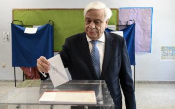 Εθνικές εκλογές 2019: Ψήφισε ο Προκόπης Παυλόπουλος