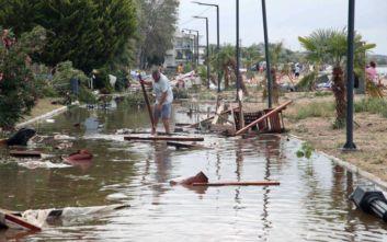 Φονική κακοκαιρία στη Χαλκιδική: Έκτακτη επιχορήγηση των τριών πληγέντων δήμων