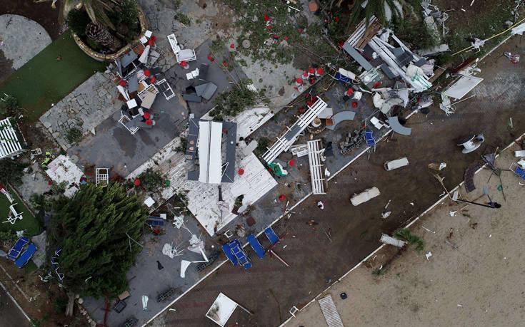 Επτά νεκροί στη Χαλκιδική που μετρά τις πληγές της από τη φονική κακοκαιρία- 120 άτομα νοσηλεύονται σε νοσοκομεία σύμφωνα με το Υπ. Υγείας
