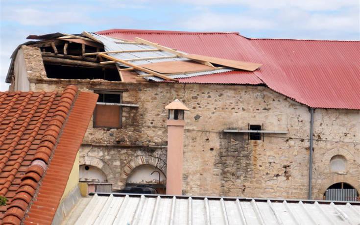 Φονική κακοκαιρία στη Χαλκιδική: Οι ζημιές σε αρχαιολογικούς χώρους και μνημεία