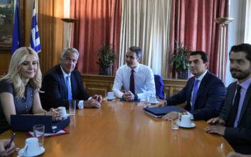Μητσοτάκης: Κεντρική πολιτική προτεραιότητα η αναβάθμιση του πρωτογενούς τομέα