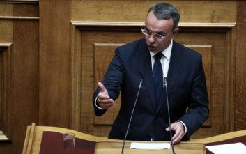 Σταϊκούρας για προϋπολογισμό: Εντός τριών εβδομάδων η ψήφιση φορολογικού, προϋπολογισμού και σχεδίου «Ηρακλής»
