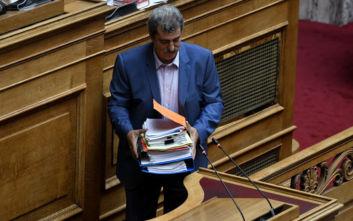 Σε εξέλιξη η ψηφοφορία για την άρση ασυλίας του Παύλου Πολάκη