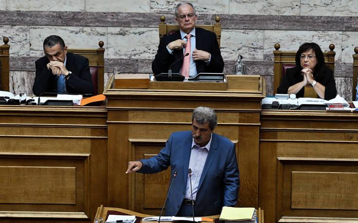 Αποχώρησε ο ΣΥΡΙΖΑ από τη συζήτηση για την άρση ασυλίας Πολάκη