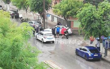 Αποτέλεσμα εικόνας για Θεσσαλονίκη: Άνδρας επιτέθηκε με τσεκούρι σε γυναίκα στη μέση του δρόμου - Την τραυμάτισε σοβαρά
