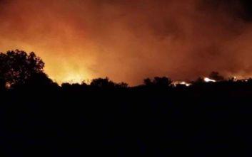 Ακόμα τέσσερα χωριά εκκενώνονται στην Εύβοια εξαιτίας της πύρινης λαίλαπας