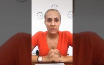 Τα… χρειάστηκε η Έλενα Ασημακοπούλου με το σεισμό στην Αττική