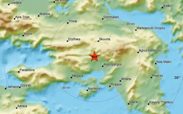 Μεγάλος σεισμός, έγινε πολύ αισθητός στην Αθήνα
