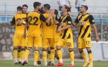 Φιλική νίκη της ΑΕΚ επί της Λαμίας με 1-0