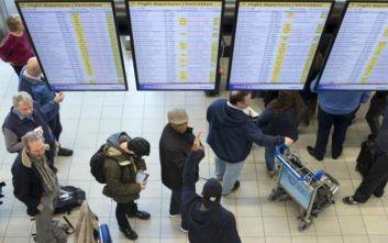 Προβλήματα στο αεροδρόμιο Σίπχολ του Άμστερνταμ, δεκάδες ακυρώσεις πτήσεων
