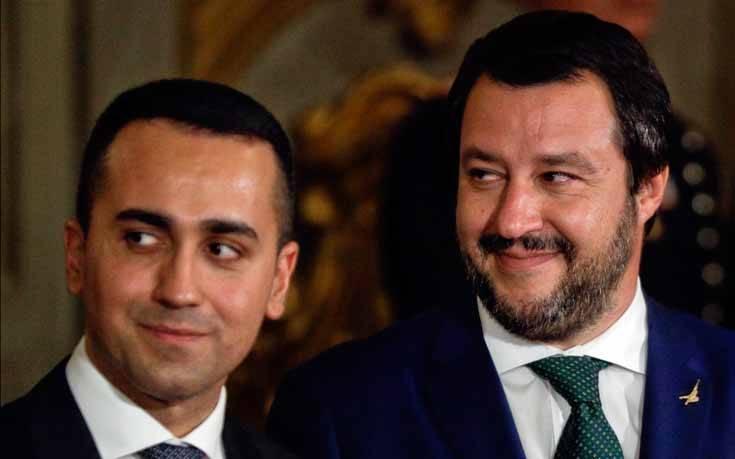 Ιταλία: Ο Σαλβίνι δεν αποκλείει εκλογές, ο Ντι Μάιο λέει «όχι»