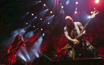 Η συναυλία των thrash ηγετών Slayer μεταφέρεται από τη Λεωφόρο στο κλειστό του ΟΑΚΑ