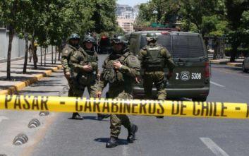 Έκρηξη βόμβας σε αστυνομικό τμήμα στη Χιλή, 8 τραυματίες