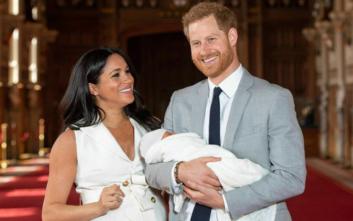 Γκρίνια στη Βρετανία για τη μυστικότητα της βάπτισης του πρίγκιπας Άρτσι