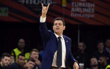 Euroleague: Κορυφαίος προπονητής της προηγούμενης σεζόν ο Ιτούδης