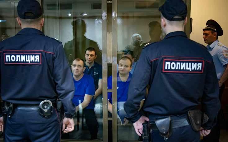 Ρωσικό δικαστήριο παρέτεινε για τρεις μήνες την κράτηση των Ουκρανών ναυτών