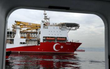 Στο λιμάνι της Λεμεσού υποστηρικτικό πλοίo του Γιαβούζ