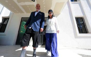 Έτσι πήγε ντυμένος να ψηφίσει ο Έντι Ράμα