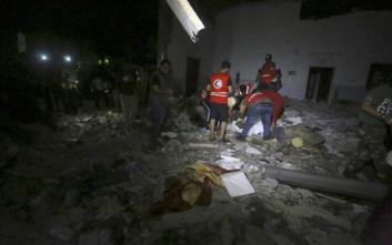 Μακελειό στη Λιβύη, 44 μετανάστες νεκροί από αεροπορικό βομβαρδισμό