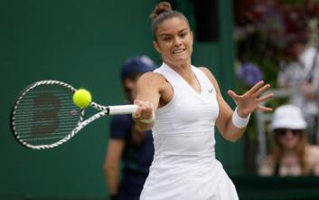Wimbledon: Αποκλεισμός και στο διπλό για την Σάκκαρη