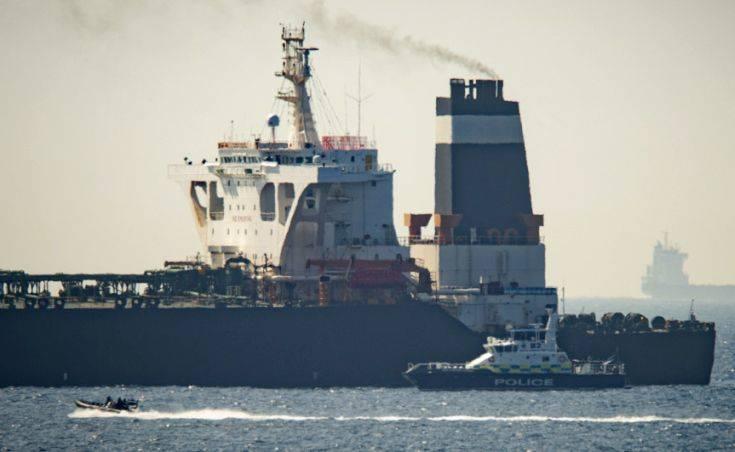 Γιβραλτάρ: Συνελήφθησαν ο καπετάνιος και ο πρώτος αξιωματικός του ιρανικού δεξαμενόπλοιου