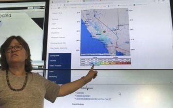 Δεν υπάρχουν θύματα από τον ισχυρό σεισμό στην Καλιφόρνια