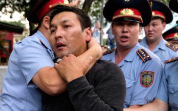 Δεκάδες συλλήψεις διαδηλωτών στην πρωτεύουσα του Καζακστάν