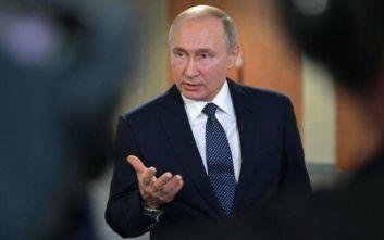 Κατά της επιβολής κυρώσεων στη Γεωργία ο Πούτιν για προσβλητικούς χαρακτηρισμούς εναντίον του