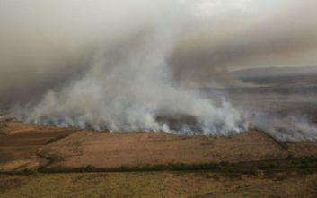 Σε κατάσταση έκτακτης ανάγκης το νησί Μάουι λόγω πυρκαγιάς