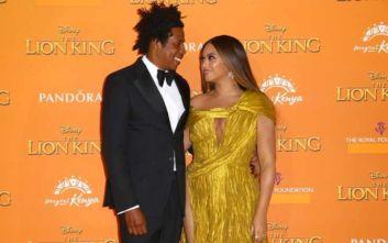 The Lion King: Έλαμψαν οι διάσημοι στο κίτρινο χαλί για την πρεμιέρα στο Λονδίνο