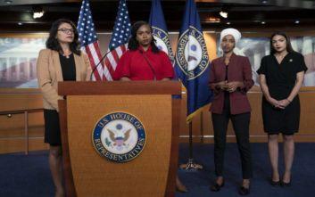 Νέα σκληρή επίθεση του Τραμπ στις τέσσερις βουλευτίνες των Δημοκρατικών