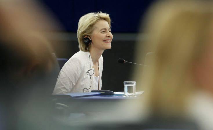 Κομισιόν: Τη στήριξη Φιλελεύθερων, και της συμμαχίας Σοσιαλιστών και Δημοκρατικών έχει η φον ντερ Λάιεν