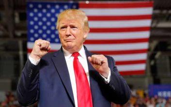 Παππούς για δέκατη φορά έγινε ο Ντόναλντ Τραμπ