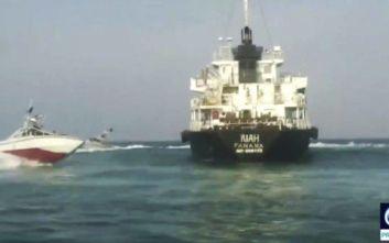 Ιράν: Οι Φρουροί της Επανάστασης «συνέλαβαν» βρετανικό τάνκερ στο Στενό του Χορμούζ