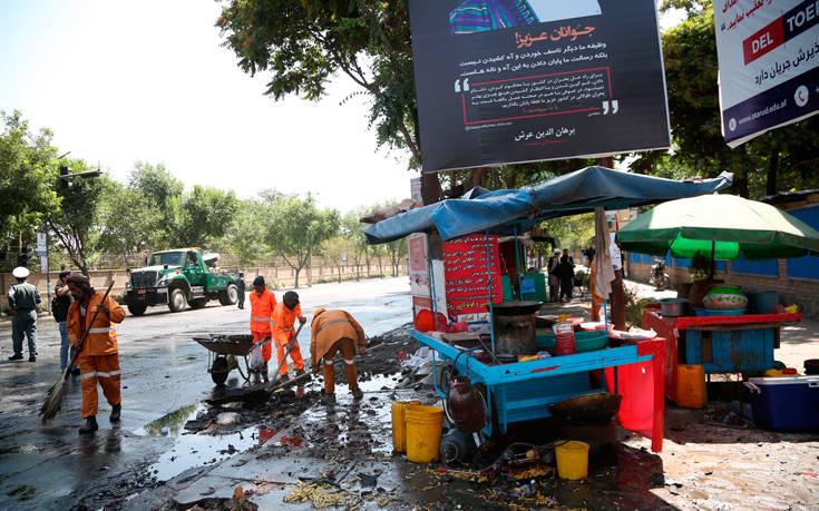 Μέσα στο αυτοκίνητο που ανατινάχτηκε ήταν ο άνθρωπος που προκάλεσε την έκρηξη στην Καμπούλ