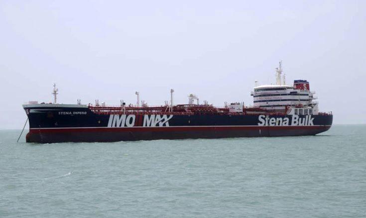To Ιράν υπερασπίζεται την κατάσχεση του δεξαμενόπλοιου και δημοσιοποιεί βίντεο