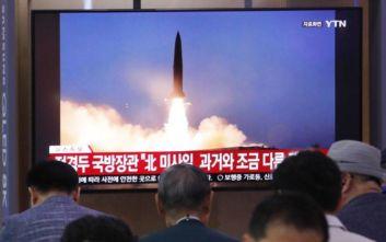 Bόρεια Κορέα: Δεύτερη εκτόξευση βαλλιστικών πυραύλων σε μία εβδομάδα