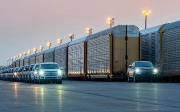 Ηλεκτρικό Pick-up σέρνει τρένο 453 τόνων