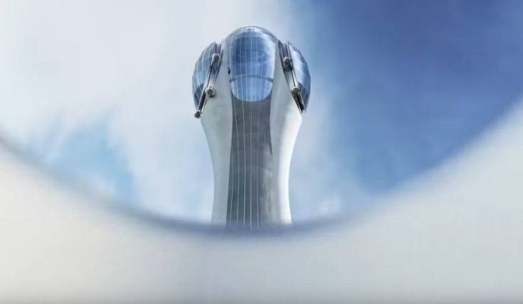 «Κόπηκε» από τον ορίζοντα του Λονδίνου ο ουρανοξύστης «Τουλίπα»