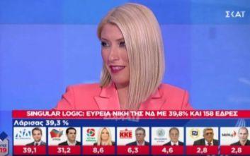 Εθνικές εκλογές 2019: Το χιούμορ της Κοσιώνη με τον Τσίπρα