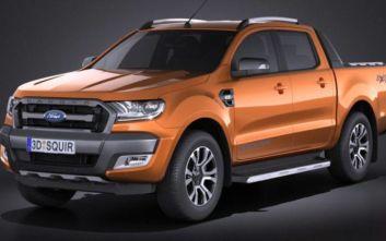 Ανακαλούνται 1058 αυτοκίνητα Ford Ranger