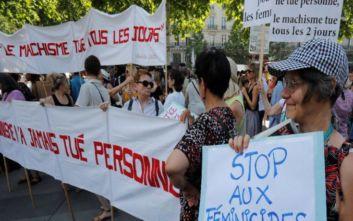 Συγκέντρωση στο Παρίσι κατά της φονικής ενδοοικογενειακής βίας