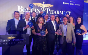Η FREZYDERM αναδείχτηκε Κορυφαία Εταιρία για το 2019 στα Best in Pharmacy Awards