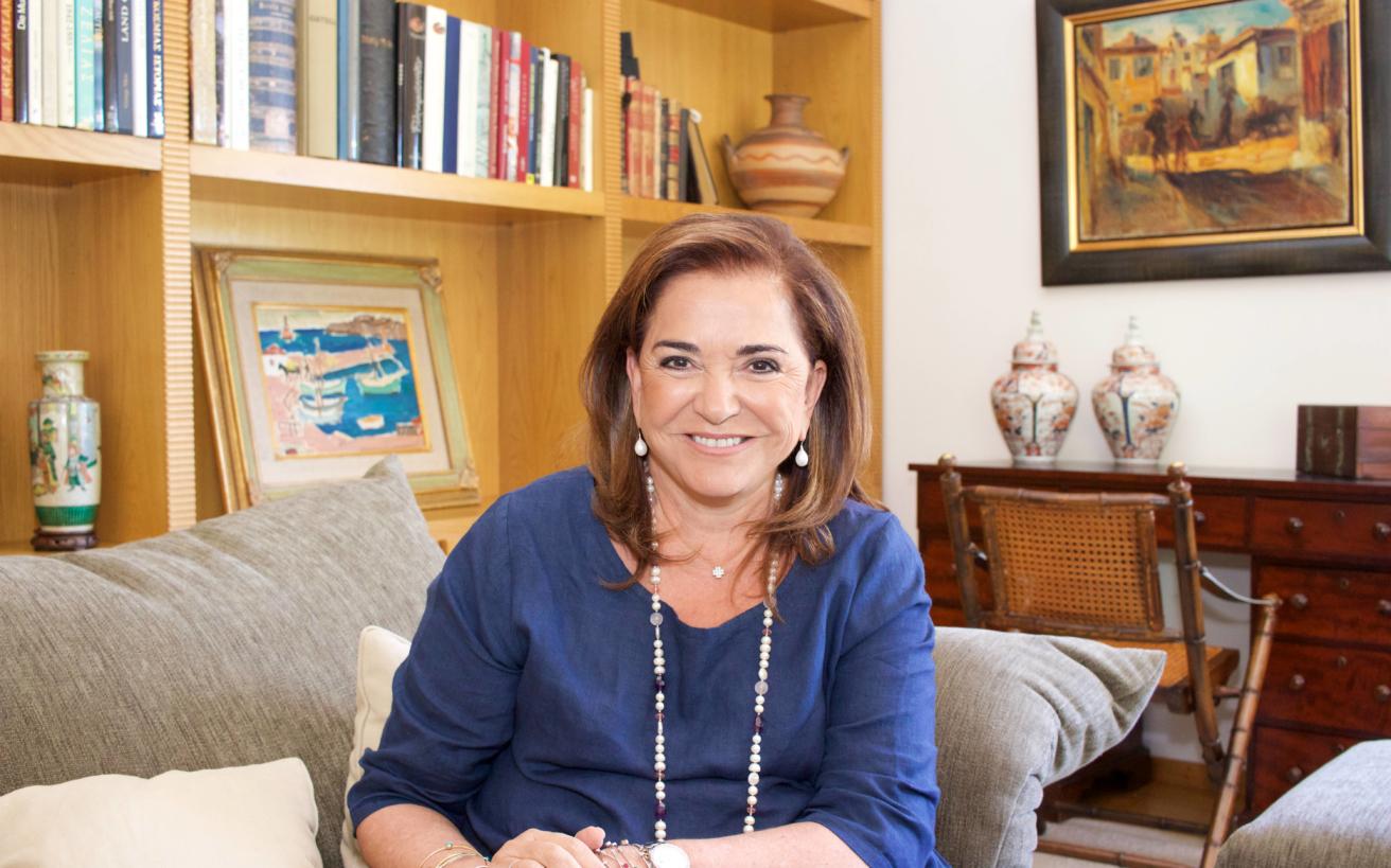 Ντόρα Μπακογιάννη: Η χώρα χρειάζεται σταθερότητα και ένα δυνατό τιμονιέρη