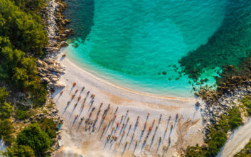 Η μικρή εξωτική παραλία της Θάσου