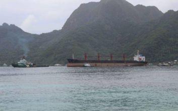 Απελευθερώθηκε το ρωσικό αλιευτικό που είχε συλληφθεί από τη Βόρεια Κορέα