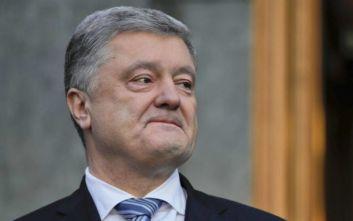 Ένας άνδρας επιτέθηκε στον πρώην πρόεδρο της Ουκρανίας, Πέτρο Ποροσένκο